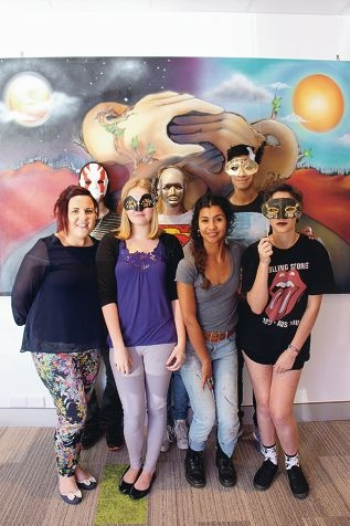 Masks deeper meaning than just art