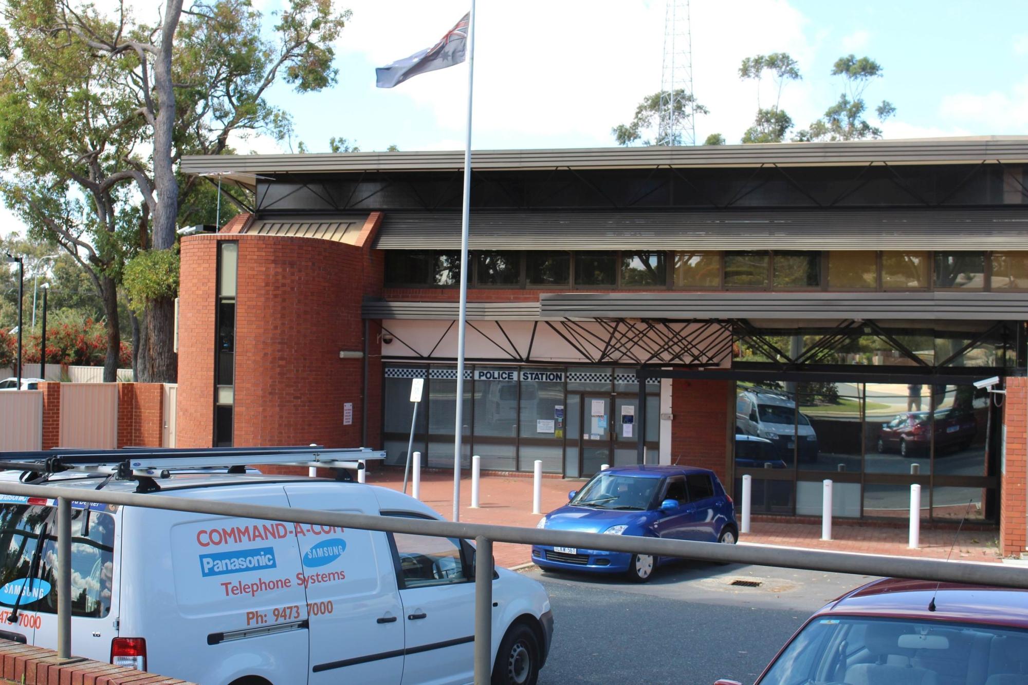 Warwick Police Station.