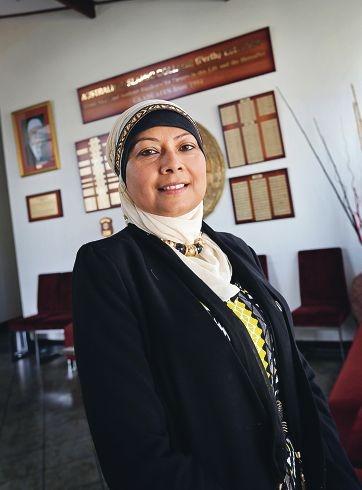 Australian Islamic College principal Nasreen Ahmed. Picture: David Baylis www.communitypix.com.au d427010