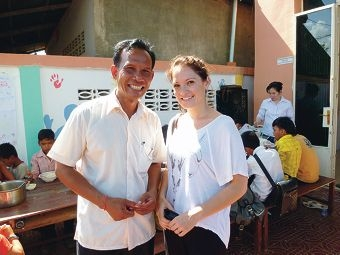 Sath Sameth from Save Poor Children In Asia and Lisa Rennie.