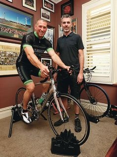 Matt Fuller is raising money for Telethon through a 24-hour cycling fitness challenge,