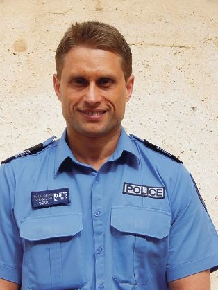 Sgt Paul Gelmi leads Local Police Team 4.
