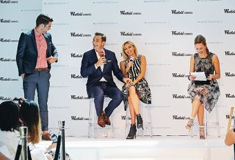 Giuliana and Bill Rancic on tour at Westfield Carousel. Picture: David Baylis www.communitypix.com.au d426691