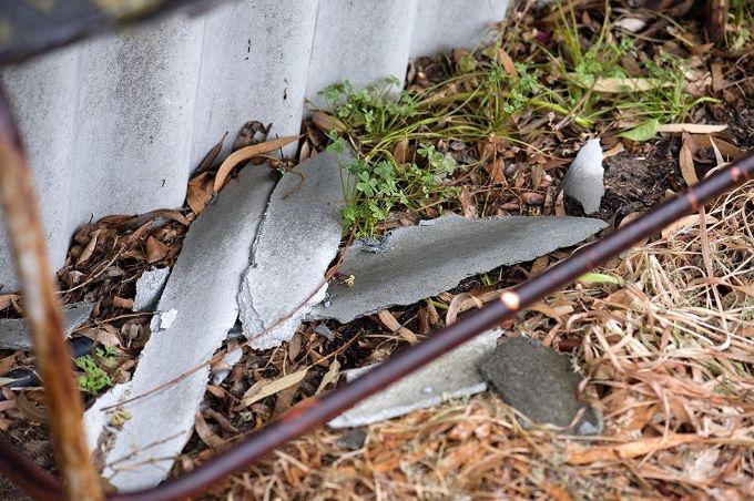 The Mt Lawley laneway asbestos fence.