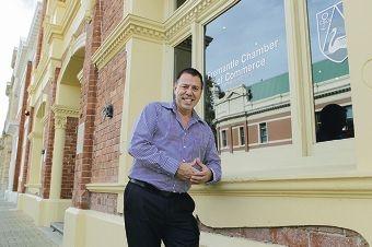Fremantle Chamber of Commerce CEO Tim Milsom.