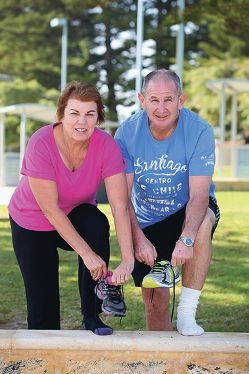 Elise and Michael Smith will be taking part in the John Hughes Big Walk to raise funds for the PMH Foundationd426323