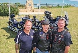 Rick Green, Bruce Bunting and Tony McDermott.