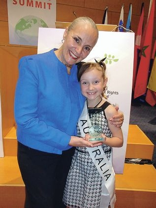 girl speaks out against bullying