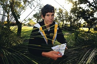 Orienteering enthusiast Isaac Ward has recovered from a broken collarbone and is representing WA in a national competition. Picture: Marcus Whisson