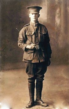 Private John Albert Woods.