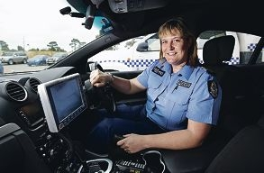 Sergeant Mollie Davies, of Murdoch's Local Policing Team One.
