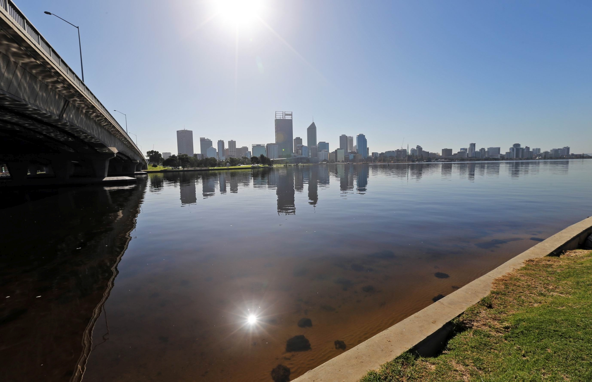 View from South Perth. Picture: David Baylis. d422484