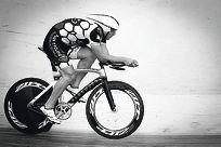 Cyclist Bernard Cecchele.