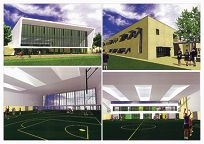 An artist's impression of the new facilities.