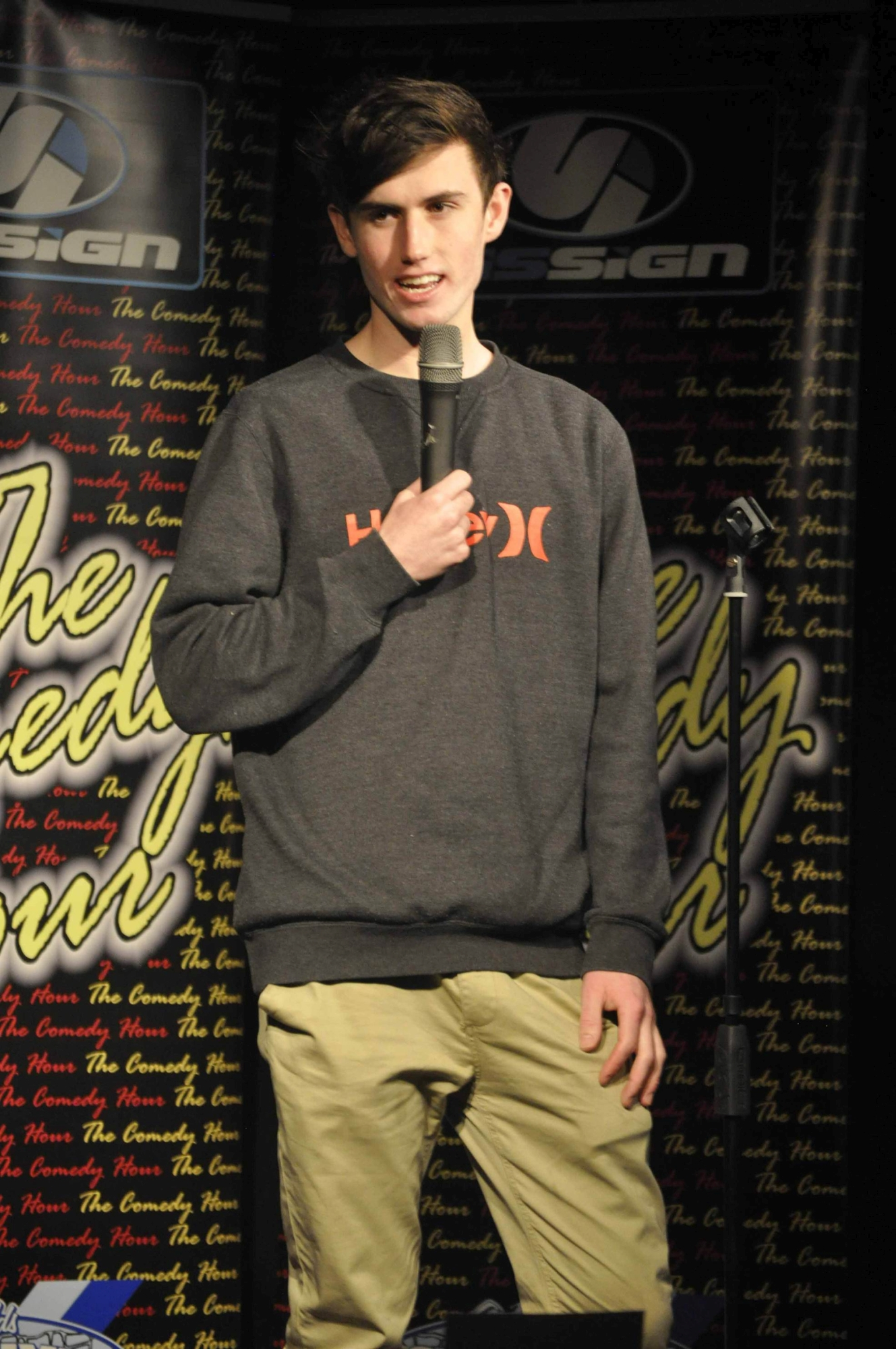 Teen comedian on the rise