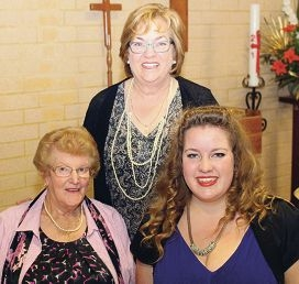 Kate Goyder with grandmother Judith and mother Mary-Anne.