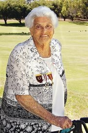 Beth Bail (90) was a life member of the Red Cross. www.communitypix.com.au d303468