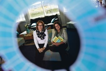 The Grief Centre of WA co-founders, from left, Michelle Dunlop and Christine Richardson [NAMES OK]