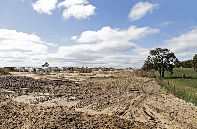Cleared land in Baldivis.