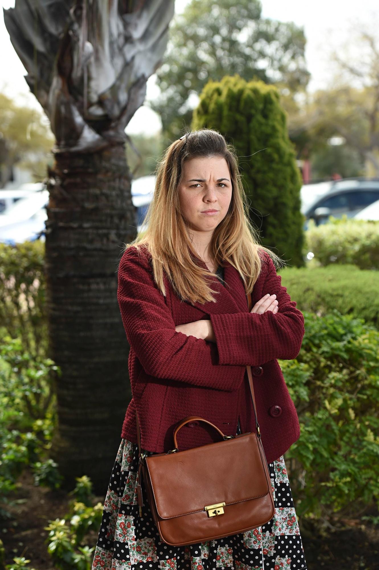 Lauren Proud. Picture: Marcus Whisson d425051