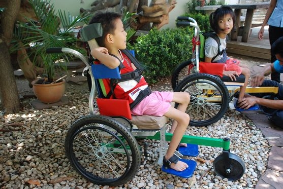 Wheelchairs for Kids receives funds