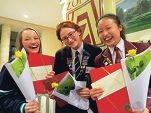 Sweet smell of success for Year 12 students, including Megan Rapeport.