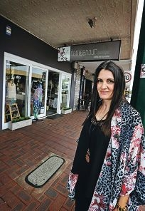 Beth McLoughlin (Owner of Ms Demeanour Boutique in East Vic Park).  Beth is happy that the Town of Victoria Park has made positive changes to parking in Albany Highway.