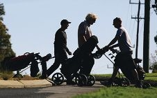 Golfers enjoy a final round at the Rose Hill Golf Course last month.d423929