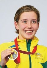 Kat Downie added a Commonwealth Games silver medal to her list of achievements.