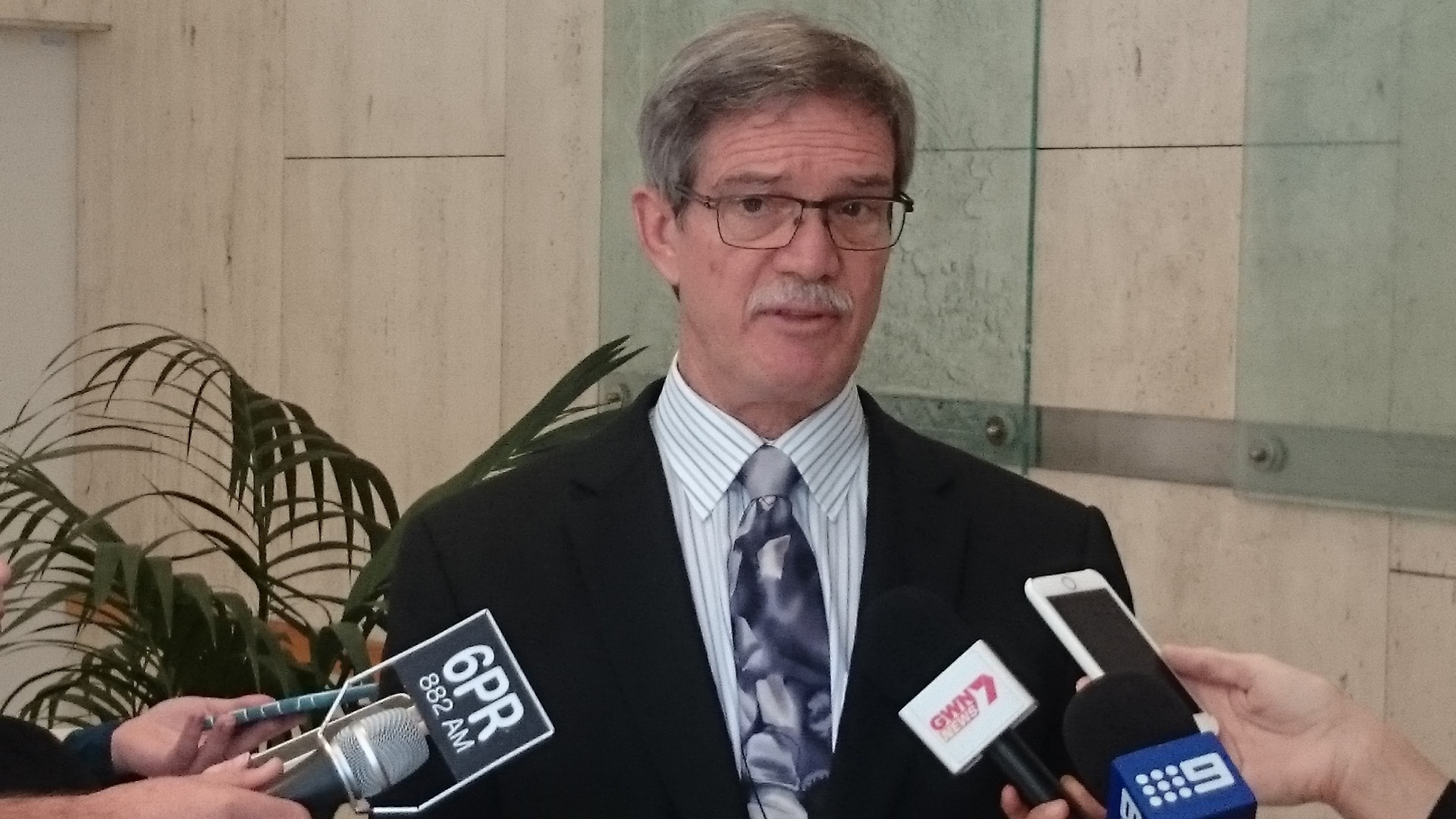 Treasurer Mike Nahan.