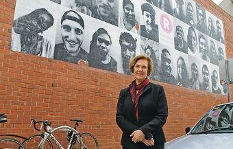 University of Notre Dame Australia Professional Development Award winner Glenda Cain.