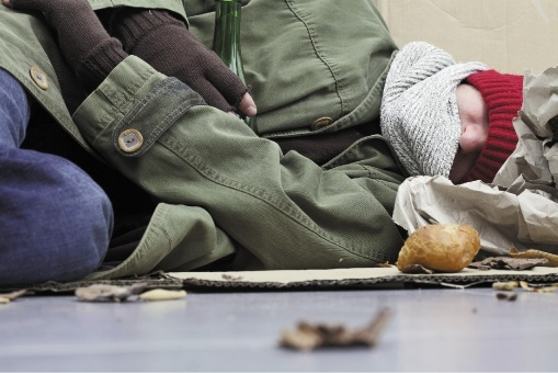 Helping homeless people has become common place for a local pastor. Picture: file pic
