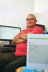 Ian Pinches is upset he cannot provide free tax help at the Yanchep Community Centre any more. d423903