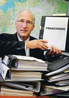 Peter Abetz MLA has been campaigining since 2009 for Federal protection for franchisees.