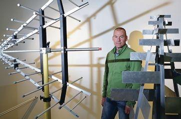 Premier's Science Award finalist Steven Tingay.