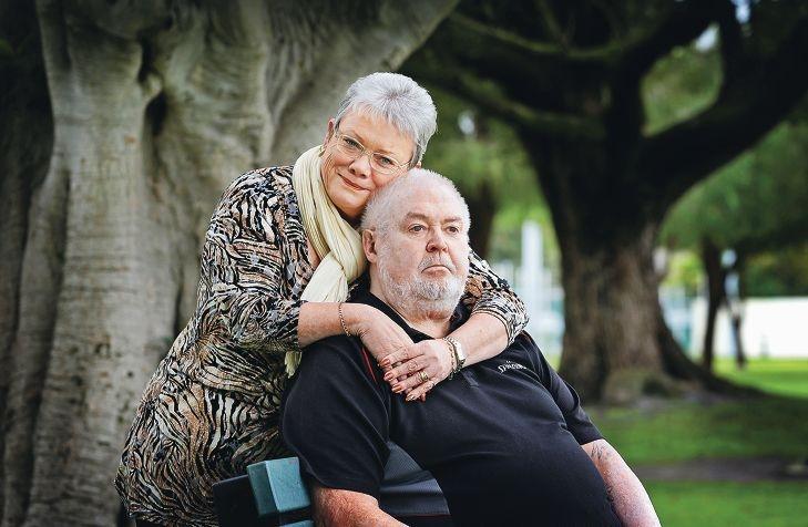 Sharon and Gary Nash.