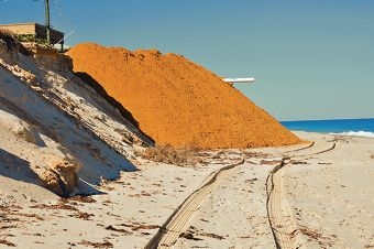 The Shire of Gingin dumped sand at the end of Turner Street last month as an emergency coastal protection measure.
