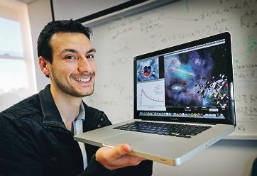 PhD candidate Mark Zammit studying Molecular Physics at Curtin University is delighted to be named one of three finalists for the Student Scientist of the Year award.