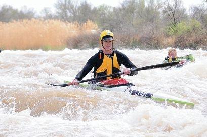 Jenni Bateman will trade her kayak for a ski in this year's Avon Descent.
