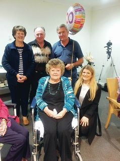 Verna Williamson celebrated her 100th birthday.