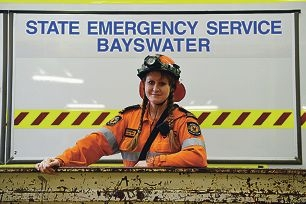 Peter Keillor Award nominee and Bayswater State Emergency Service team leader and training manager Jane Campbell. Picture: Marcus Whisson d423513