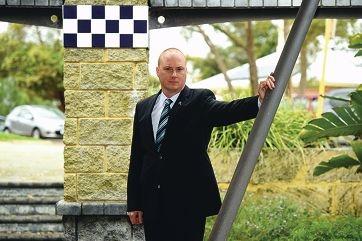 WA Police Union president George Tilbury.