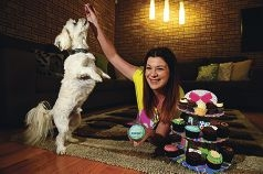 Cupcake crusader Nicole Strijk is organising her Cupcake Day event to raise money for the RSPCA.Picture: Marcus Whisson d423443