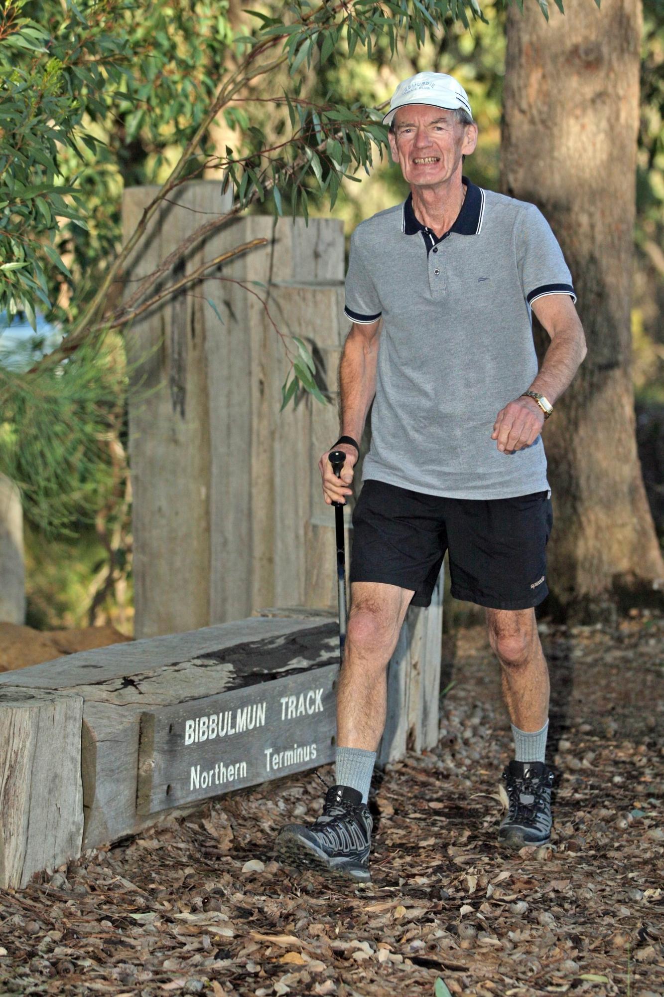 Tom Weir walks the walk. d423033