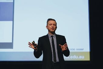 Alan McKee at the 2014 WA Youth Sector Conference in Burswood earlier this month.