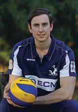Volleyball player Matthew Hender.