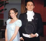 Morley resident Natasha Stiven is Elizabeth Bennet and Jacob Turner is Mr Darcy in Pride and Prejudice next month.