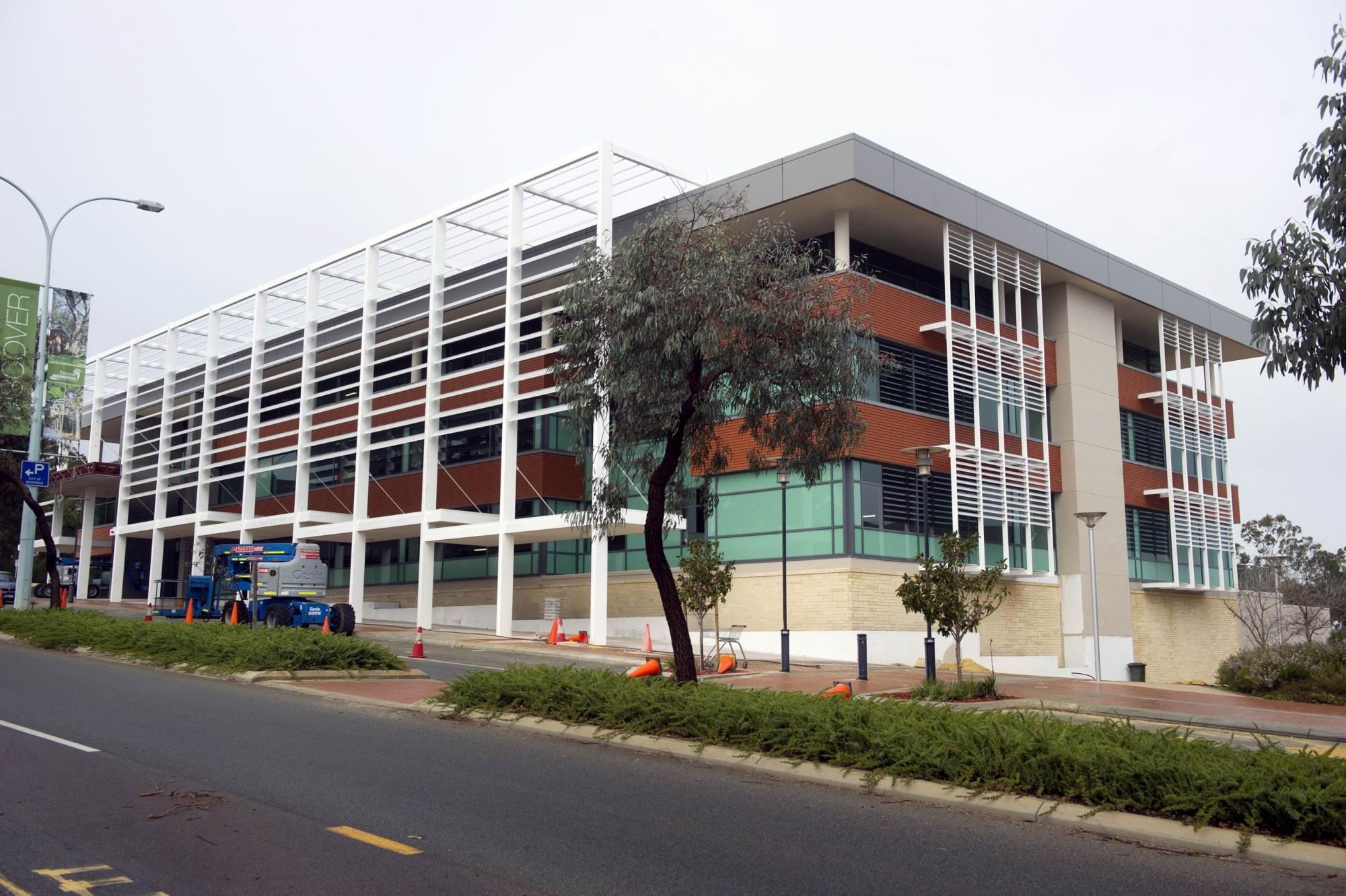 The new ECU health centre. Picture: Emma Goodwin
