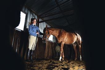 Natasha Williams has been with Riverside Park Pony Club since she was six years old. Picture: Jon Hewson d422592