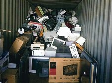 About 18 tonnes of e-waste was collected for recycling at Craigie Leisure Centre on June 28 and 29.